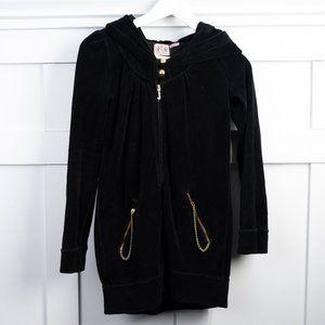 Juicy Couture Velour Zip Up Hoodie Petite